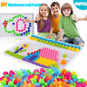 NEW Creative Children Puzzle Peg Board 96 Pegs For Kid Educational Toys DIY Gift