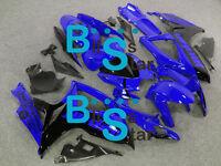 Blue black GSXR600 Fairing Fit SUZUKI GSX-R600 GSX-R750 2006-2007 013 A4
