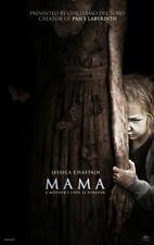 Mama - original DS movie poster - 27x40 D/S Horror - Jessica Chastain , Del Toro
