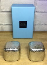 Royal Selangor Pewter Contemporary Salt and Pepper Shakers