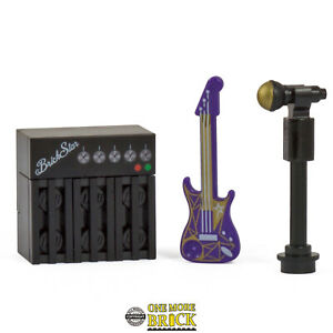 Guitar, Amp, & Microphone stand | Band Music | All parts LEGO