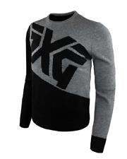 PXG Men's Color Block Bold Logo Sweater