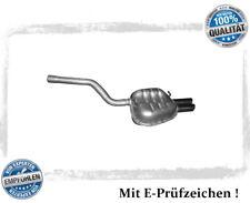 Endschalldämpfer VW Golf V 5 VI 6 Variant Jetta A5 1.4 TSI Auspuff Endtopf Chrom