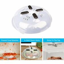 Magnetic Microwave Plate Cover Food Hover BPA Free Anti-splatter Dish Lid Safety