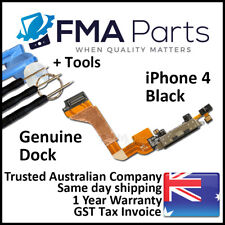 iPhone 4 OEM Dock Connector Microphone Black Flex Cable Replacement Tools Kit