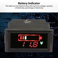 Digital Medidor de voltaje voltimetro Motocicleta Indicador bateria Impermeable