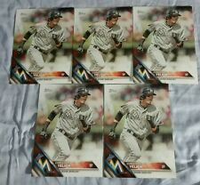 LOT OF 5 2016 Topps CHRISTIAN YELICH Miami Marlins SGA oversized jumbo 5x7 card