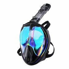 ENKEEO Snorkel Mask, Full Face Snorkeling Mask Diving Mask - 180° Wide Panoramic
