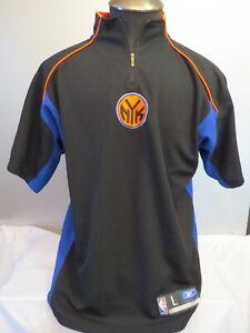 New York Knicks Shooting Shirt (Retro) - Team Apparel by Reebok - Men's Large