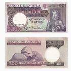 1973 ANGOLA 500 Escudos Banknote - P.107 - EF/aUNC.