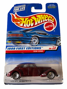 Hot Wheels 1936 Cord - 1999 First Editions - Combined Postage Available