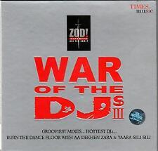 WAR OF THE DJ'S 3 - BRAND NEW CD - FREE UK POST