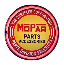 MoPar Parts Accessories LED Neon Light Rope Sign, Bottle Cap Shaped Bar Man Cave