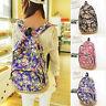 Vintage Mujer Floral Lona Viaje Cartera Bandolera mochila escolar mochila