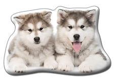 """Alaskan Malamute Gift – Beautiful Large 'Cuddle Cushion' approx 18"""" x 16"""""""