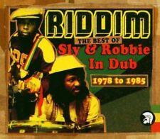 Sly & Robbie - Riddim The Best of in Dub 2 X CD 2004 Trojan as 2cd