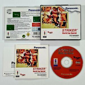 ©1994 Rage/Panasonic 3DO Spiel STRIKER WORLD CUP SPECIAL dt Retrosoccer/Fussball