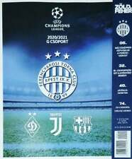 Ferencvaros v Dinamo / Dynamo Kiev - Juventus - Barcelona 20/21 Champions League