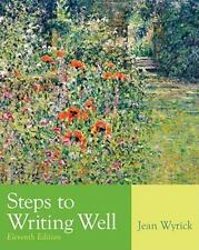 Steps to Writing Well by Jean Wyrick (2010, Paperback)
