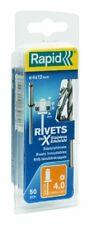 Rapid Rivets inoxydables 4x12mm Rivet