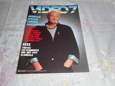"Johnny Hallyday  Magazine ""Vidéo7""  1987"