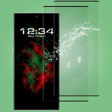 2x Película de Cristal Fullscreen Transparente - Samsung galaxy Note 10 IN Negro