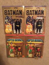 Lot Of 4 Toybiz Batman And Robin Action Figures 1989