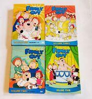 FAMILY GUY VOLUME ONE TWO THREE FOUR SEASONS 1-4 DVD BOX Sets