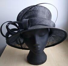 Ladies Wedding Hat :BLACK