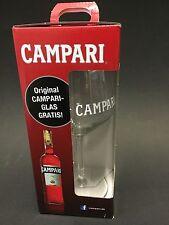 6x Campari 'Tocco Rosso' Aperitif Glas Gläser Dickbauchig NEU OVP Sommer