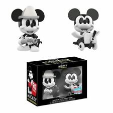 Mickey Mouse Black White Mini Vinyl Figures 2 Pack NYCC 2018 Exclusive Funko