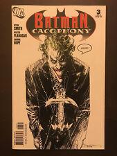 Batman Cacophony 2009 #3 Variant Bill Sienkiewicz Classic Joker Cover