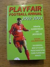2002/2003 Playfair: fútbol anual. toda falla con este artículo se han sido