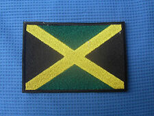 Jamaica Country Flag Jamaican Reggae Rasta National Sow Sew On Patch Badge