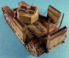 Milicast WAD03 1/76 Resin WWII Churchill Wading Trunking & Extended Exhaust