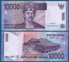 INDONESIEN / INDONESIA 10.000 Rupiah 2010  UNC  P.150 a