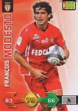 FRANCOIS MODESTO # FRANCE AS.MONACO CARD CARTE PANINI ADRENALYN FOOT 2010
