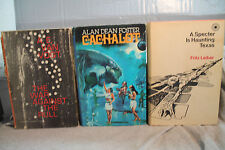 lot vtg old Sci-Fi  A SPECTER IS HAUNTING TEXAS THE WAR AGAINST  RULL CACHALOT