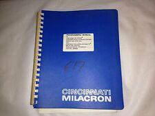 Cincinnati Milacron Programming Manual Cinturn Series C Turning Centers