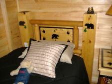 Bear, Rustic , Log Beds