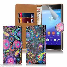 32nd Design Book Wallet PU Leather Case Cover for Sony Xperia Z2 Mobile Ph