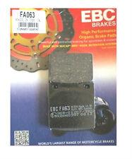 EBC FA063 Pastillas de freno trasero para Suzuki SV SV650 1999 a 2002