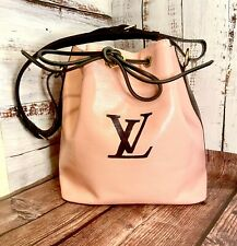 Louis Vuitton Petite Noe Custom Painted Escale Authentic Epi Leather Authentic