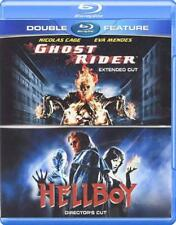 Ghost Rider (Extended Cut)/Hellboy (Directors Cut) (Blu-ray Disc, 2013)