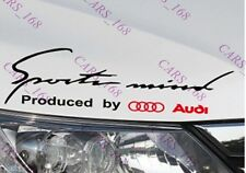 ☆New☆ Headlight Eyebrow Car Stickers Decals Graphic Vinyl For Audi (Black)