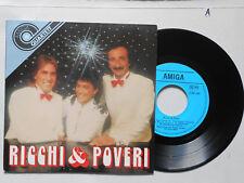 Schallplatte  ST45 Vinyl.  Ricchi&Poveri