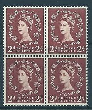 S38g 2d Wilding Edward with listed variety - tadpole flaw retouch UNMOUNTED MINT
