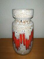 SCHEURICH FatLava Vase 242-22 WGP 60s Midcentury Vintage German Artpottery