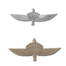 Israeli Army Military IDF Tactical Paratroopers' Parachute Symbols pins.
