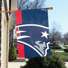 New England Patriots 2'x3' NFL Licensed Bold Logo Banner / Flag - Free Shipping